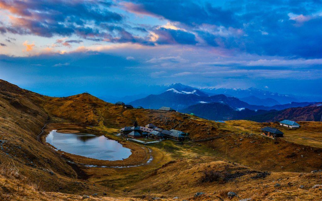 Prashar-Lake-Rohit-Singla-Dhauladhar-range-Prashar-Lake-Camp-site