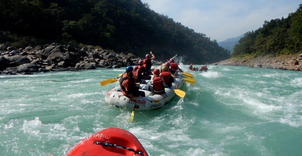 adventure actiivities rafting